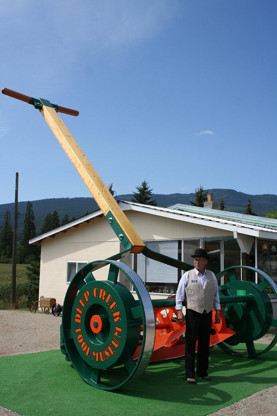 Deep Creek Tool Museum - Worlds Largest Lawnmower